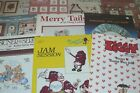 Lot of 10 Assorted Cross Stitch Pattern Books Leaflets Roses Ziggy Raggedy Ann..