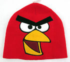 Angry Birds Men's Red Bird Knit Beanie Cap Hat Red 100% Acrylic OSFA BNWT Cool