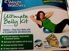 WEIGHT WATCHERS ULTIMATE BELLY KIT MINI STABILITY BALL DVD Recipes New