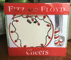 Fitz and Floyd-Cheers-Snack Plate with Spreader-New In Box