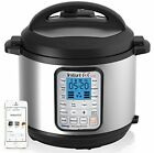 Instant Pot Smart Bluetooth 6 Qt 7-in-1 Multi-Use Programmable Pressure Cooke...