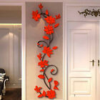 3D Flower Removable Vinyl Quote DIY Wall Sticker Decal Mural Home