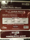 12-Pack Pioneer R-57 Refill 5 x 7 in f/ PS-5781 Photo Album -120 Pages/60 Sheets