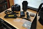 Nikon D90 W AF S DX Nikkor 18 105 f 35 56G ED VR Box  Accessories Excellent