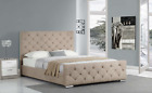 BRAND NEW EX DISPLAY RRP 499 Buckingham Fabric Champagne Mink King Size bed 5