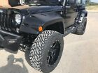 07 17 Jeep Wrangler Pocket Style Protection Fender Flares Front and Rear Set