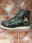 RED WING MOC TOE MOSSY OAK CAMOUFLAGE SIZE 8 E style 0884 Limited Ed Redwing