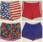 Girls 14 Justice Champion Faded Glory lot 4 shorts athletic cheer sport basketba