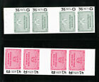 US Stamps Revenues 2x Cmplt Strips of 4 n original packets