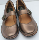 Montana Cove Artisan Crafted Womens Mary Jane Copper Flats Round Toe slip On 6M