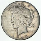 Early 1922 S Peace Silver Dollar 90 US Coin 133
