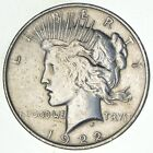Early 1922 Peace Silver Dollar 90 US Coin 221