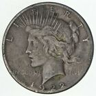 Early 1922 S Peace Silver Dollar 90 US Coin 138
