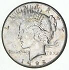 Early Better Grade 1922 S Peace Silver Dollar 90 US Coin 071