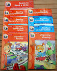 Lot 10 Twin Sisters Learning Horizons Language Arts Math on the go activity book