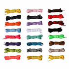 Round Coloured Athletic Sneakers Shoe Laces Strings Strong Shoelaces Bootlaces
