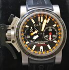 GRAHAM CHRONOFIGHTER OVERSIZED WITH CARBON FIBER & YELLOW ACCENT THEME