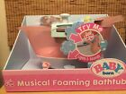 Baby Born Musical Foaming Bathtub with Shower Station  Lights and Sounds NIB