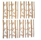 Birch trees die cuts set of 4 free shipping