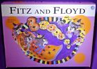 Fitz and Flloyd Kitty Witches Boo Bowl Porcelain Halloween Candy BARELY USED VGC