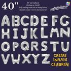 Balloon Letters Numbers Gold Silver 40 16 Jumbo Foil Mylar insta Balloons