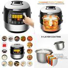 Modern Rice Cooker Led Touch Control Preset Timer Adjustable Temperature Gift