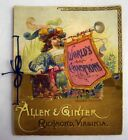1888 N29 Allen & Ginter Trading Cards 13