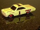 RACING CHAMPIONS FORD DICK HUTCHERSON #1 DIE CAST CAR 1/64