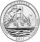 2011 D VICKSBURG America the Beautiful Quarter