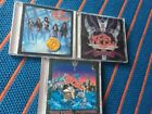 Keel 3 CD S/T The Right To Rock Final Frontier (Steeler Hair Heavy Metal)