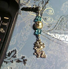 Dragon Turquoise Cell Phone Charm Dust Plug Cover Android 1 SHIP