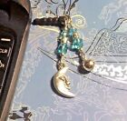 Moon Bell Cell Phone Charm Dust Plug Cover All Phones++1 Ship