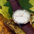 Vintage Zenith Chronometer Automatic Cal 2542 25 Jewels Mens Watch Serviced 33mm