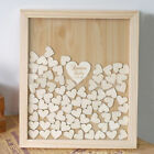 Fashion Home Decoration Mixed Rustic Wooden Love Heart Wedding Table Scatted