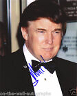 45TH PRESIDENT DONALD TRUMP EARLY HAND SIGNED AUTOGRAPHED PHOTO! JSA LOA +PROOF!