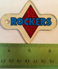 Genuine ROLLERGAMES ROCKERS Pinball Promo Plastic Williams Keychain NOS Fob   D9