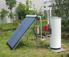 132 Gallon Solar Water Heater Full System W Solar Collector Tank