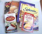 Diabetic and Diet Lot of 5 Cook Books and 1 Magazine Splenda Kraft Cooking Light