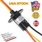 3 Wires 30A Current Wind Generator Slip Ring 250Rpm 600 VDC/VAC Collector Ring