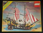 Vintage 1989 LEGO 6285 Pirate Ship Legoland Black Seas Barracuda Not Complete