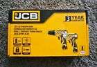 12V Cordless Combi Drill Impact Driver Twin Pack Li-Ion 2 Batteries Carry Bag