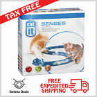 Cat Play Circuit Speed Ball Track Game Action Toy Interactive Kitten Fun Chase
