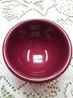Fiesta CINNABAR Tripod Bowl New old stock Discontinued Item