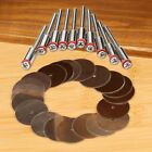 20pcs Rotary Tool Accessories 22mm Cut Off Wheel Disc & 10pcs 3.175mm Mandrel