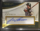 2017 Immaculate Jose Canseco Auto 99