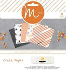 CRATE PAPER AFTER DARK MINC 6 x 6 in Paper Pad 24 Sheets 680284
