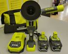 RYOBI R18AG ONE+ Angle Grinder 18V (2x Battery + Charger) - EXCILLENT CONDITION