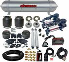 2005-18 Chrysler 300 Air Suspension Drop Kit 580 Blk Compressors