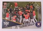 2017 Topps Now YTTV 1st World Series Championship in Houston Astros History