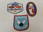 3 Vintage Michigan 500 club WIBC League Champion 1967 Bowling Patch Patches